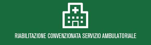 Riabilitazione convenzionata servizio ambulatoriale