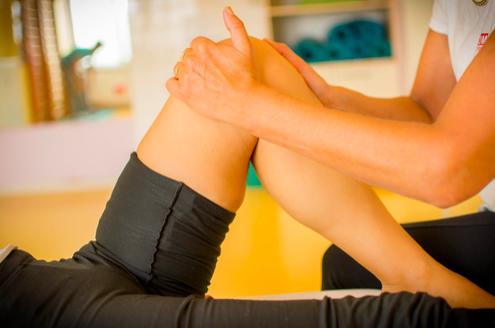 ginocchio e terapia manuale
